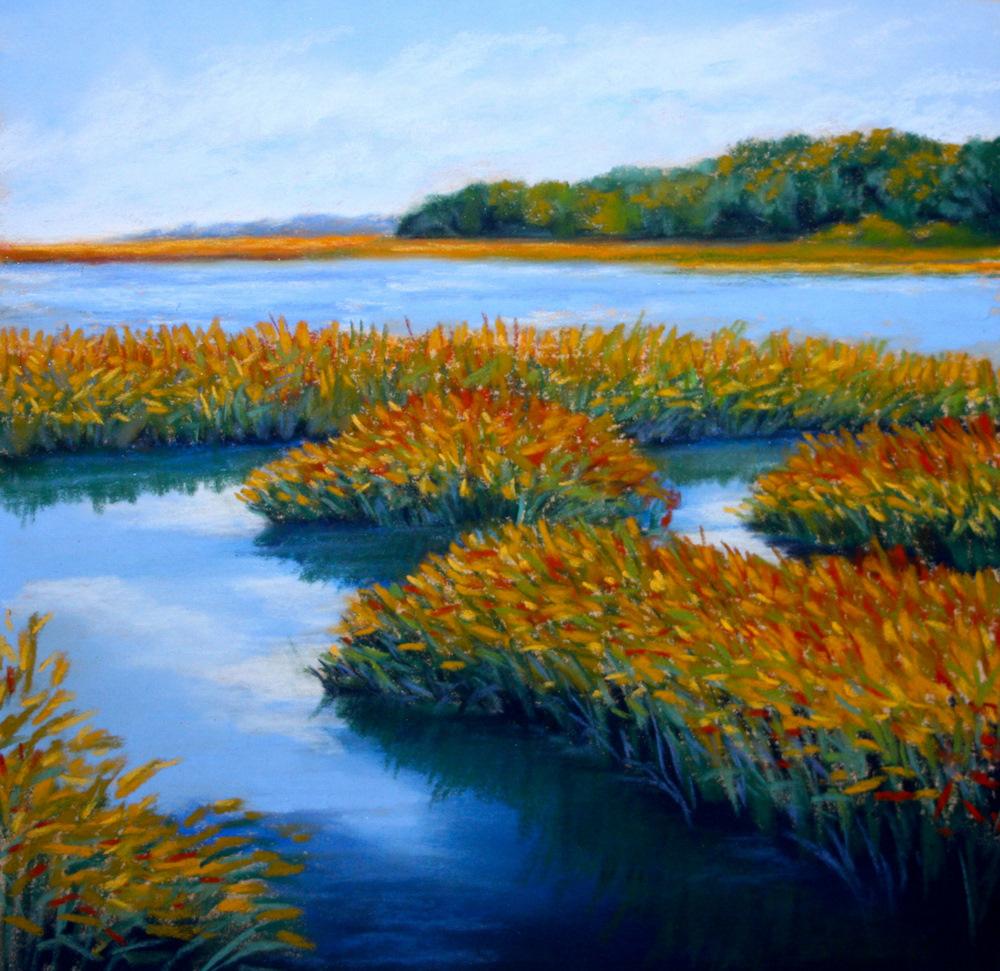 """Intracoastal Near St. Augustine"" original fine art by Jill Bates"