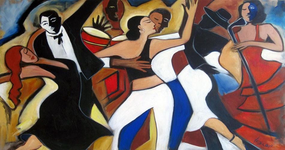 """""""Caliente"""" original fine art by Valerie Vescovi"""