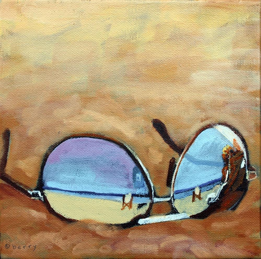 """""""REFLECTIONS TWO"""" original fine art by Suzanne Berry"""