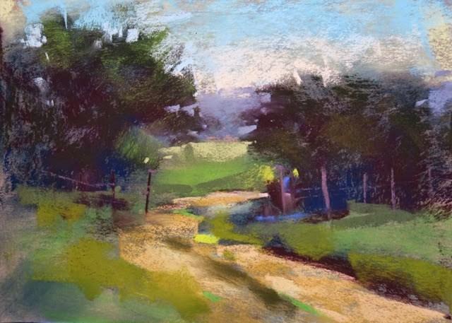 """Dripping Springs Texas Workshop Report Day 2"" original fine art by Karen Margulis"