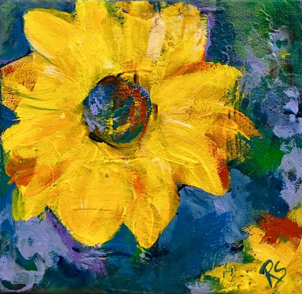 """The Days of Summer Sun"" original fine art by Roberta Schmidt ArtcyLucy"