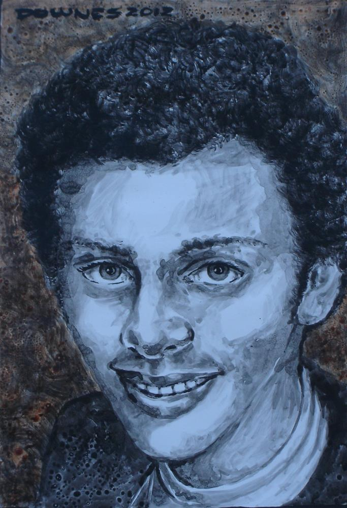 """261 ABDUL"" original fine art by Trevor Downes"