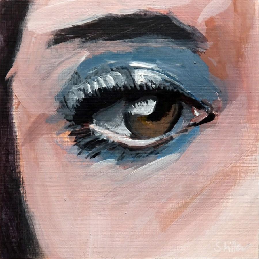 """""""1819 Eye Sight 3"""" original fine art by Dietmar Stiller"""