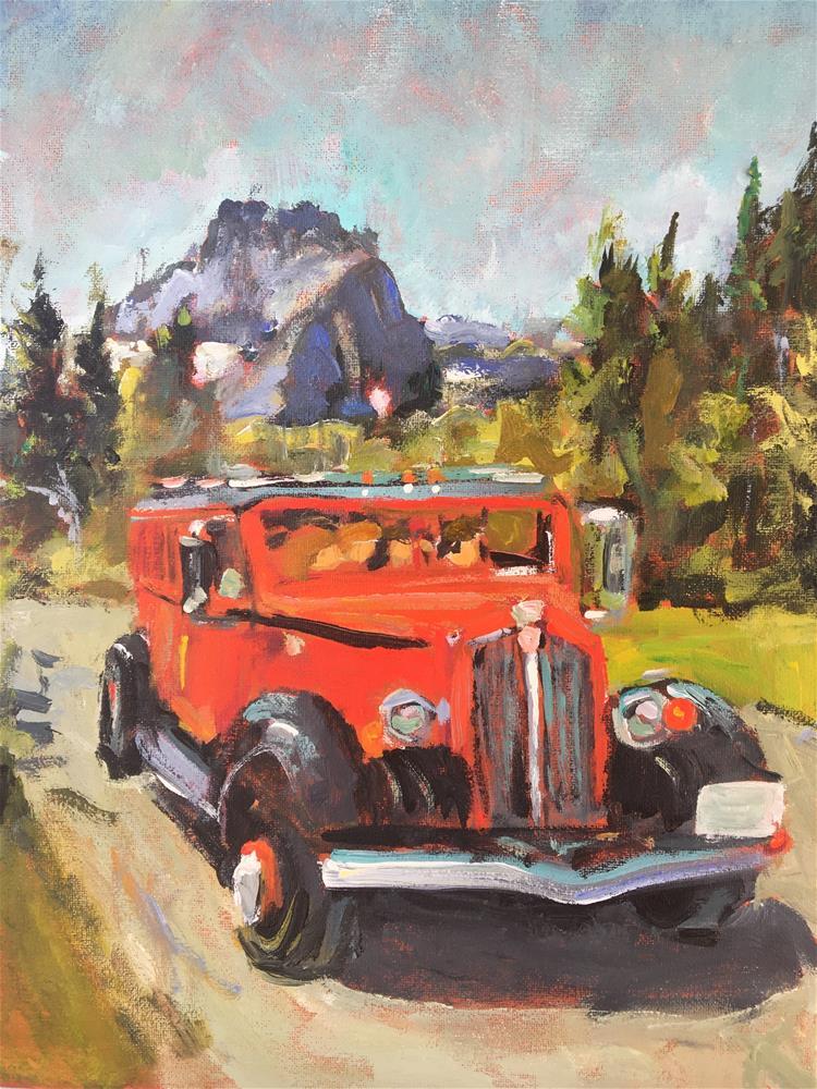 """Wanderlust"" original fine art by Susan Elizabeth Jones"