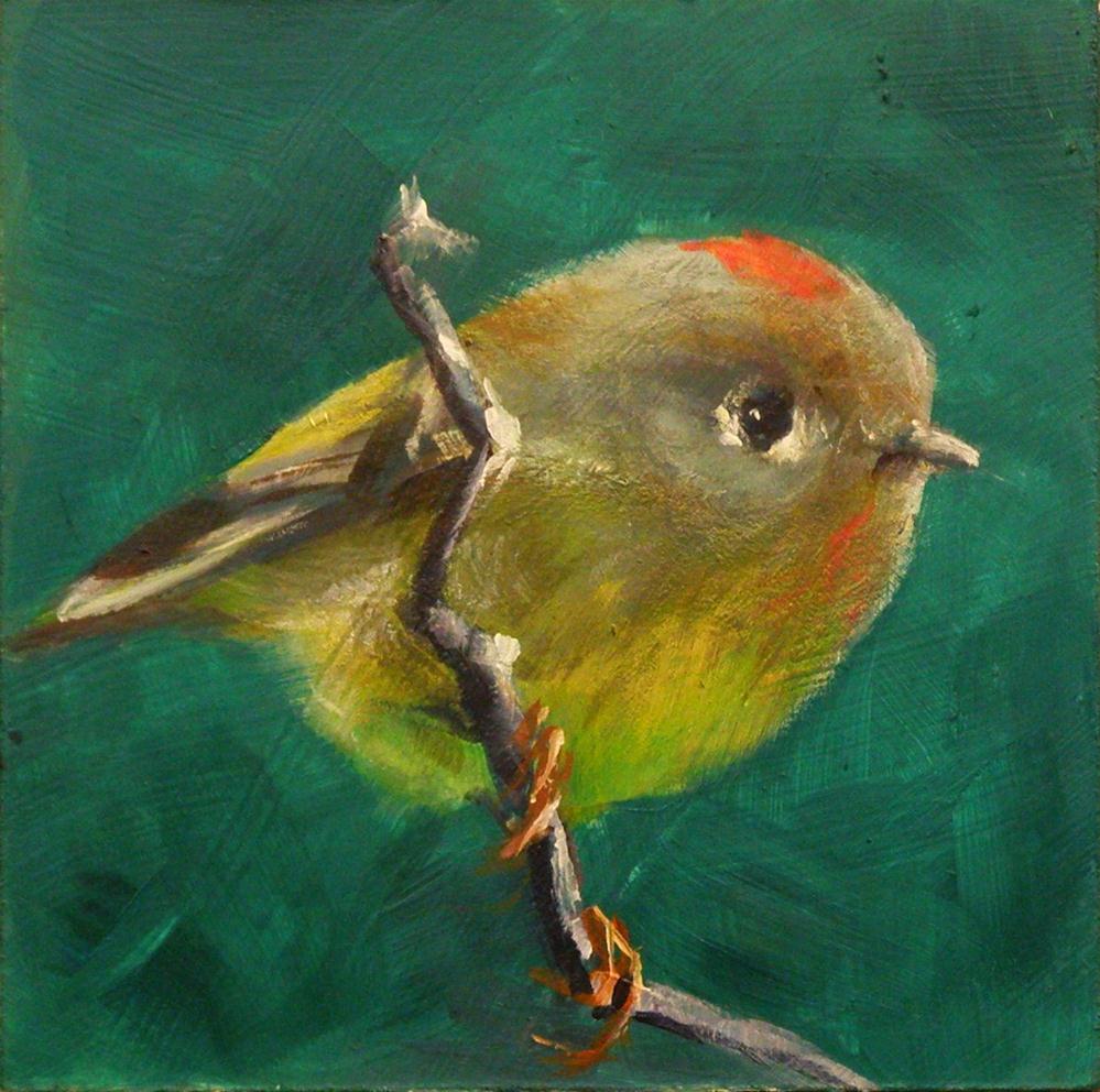 """RUBY CROWN"" original fine art by Brian Cameron"