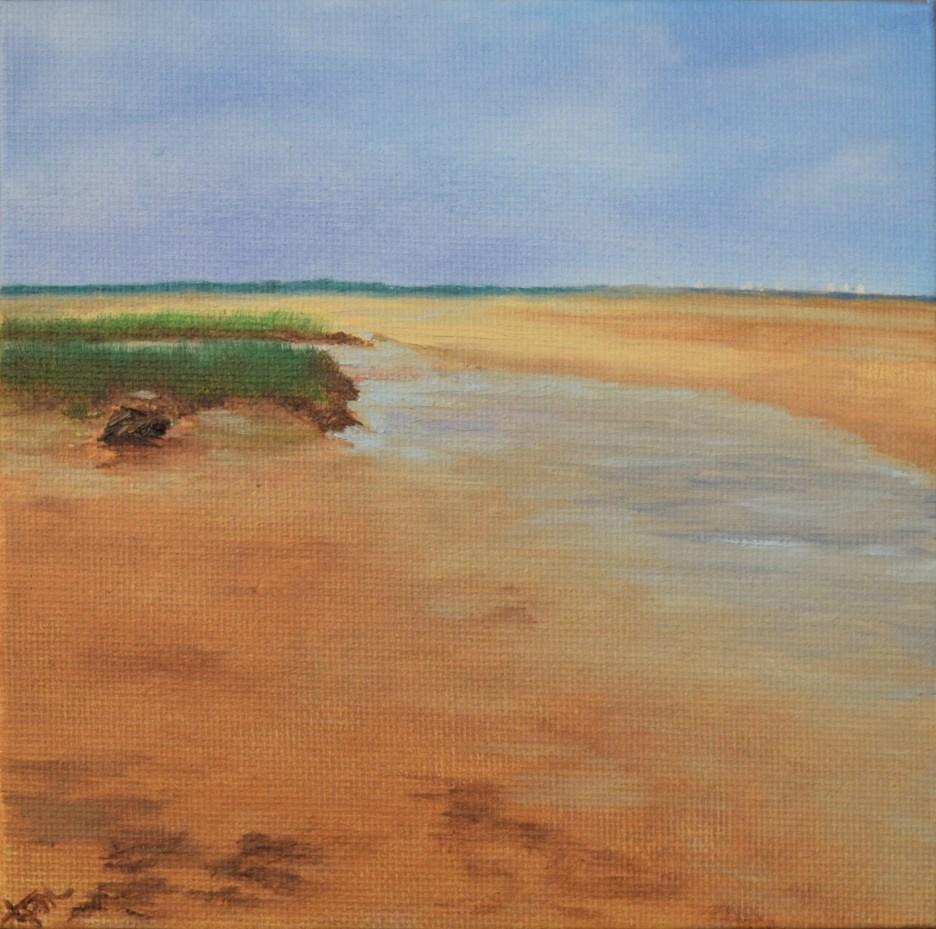 """Quiet Tide Pool"" original fine art by Tisha Mark"