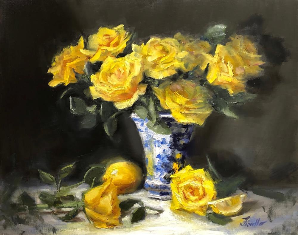 """""""Brighten My Day!"""" original fine art by Pat Fiorello"""