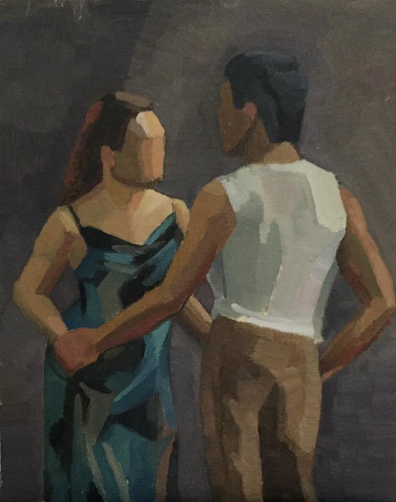 """""""tango"""" original fine art by Sarah Meredith"""
