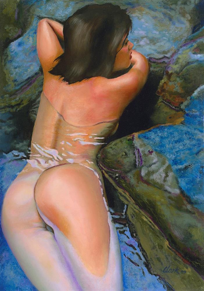 """A Private Moment"" original fine art by David Clark"