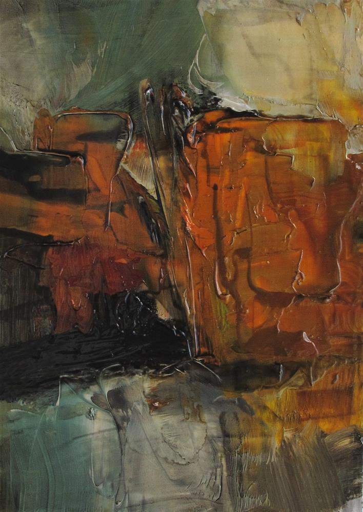 """ACEO Original Oil Painting Art FUN AND GAMES"" original fine art by Colette Davis"