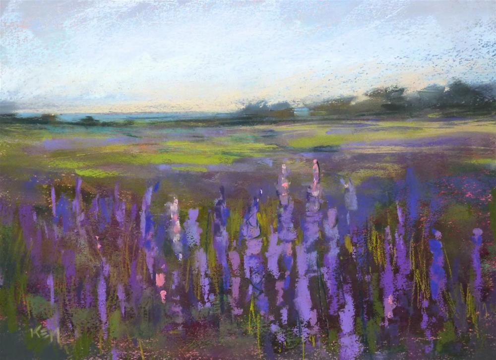 """""""Limiting Pastels for More Intuitive Painting"""" original fine art by Karen Margulis"""