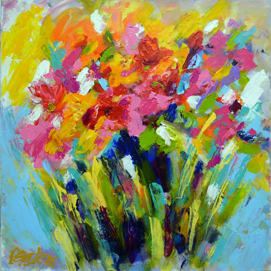"""Andy's Bouquet"" original fine art by Pamela Gatens"