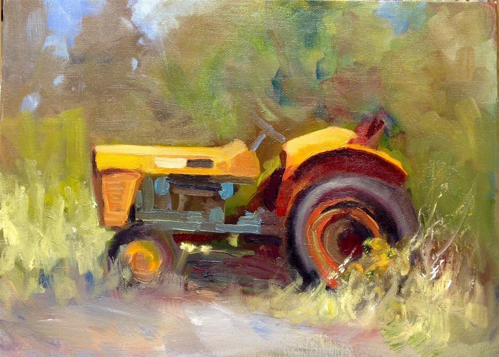 """""""Old Faithful"""" original fine art by Cathy Boyd"""
