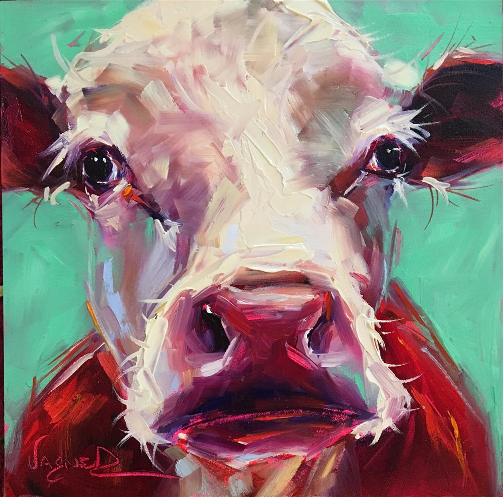 """Snout"" original fine art by Olga Wagner"