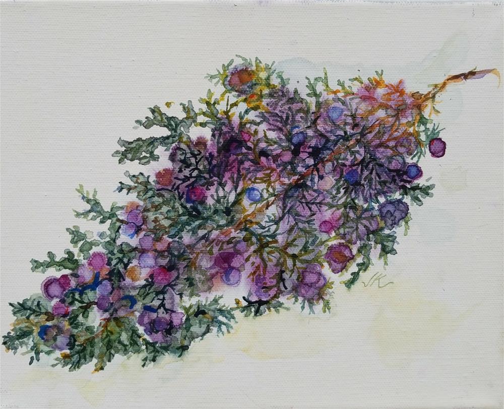 """""""Juniper"""" original fine art by Jean Krueger"""