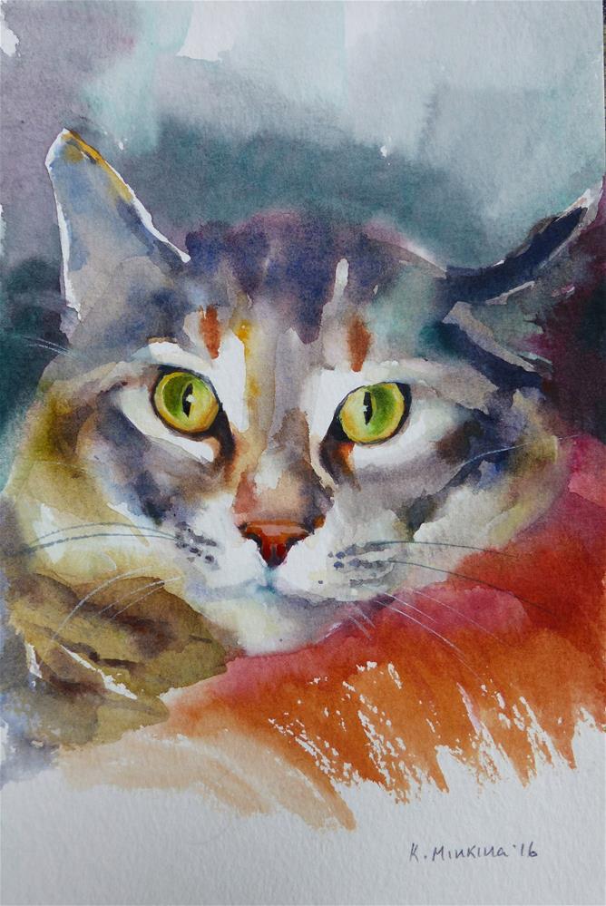 """adopt167"" original fine art by Katya Minkina"