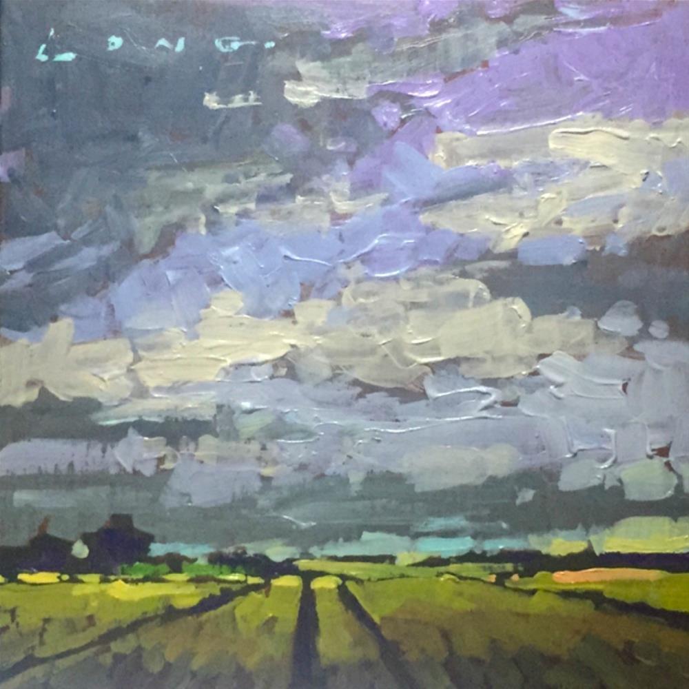 """Lebanon Field"" original fine art by Chris Long"