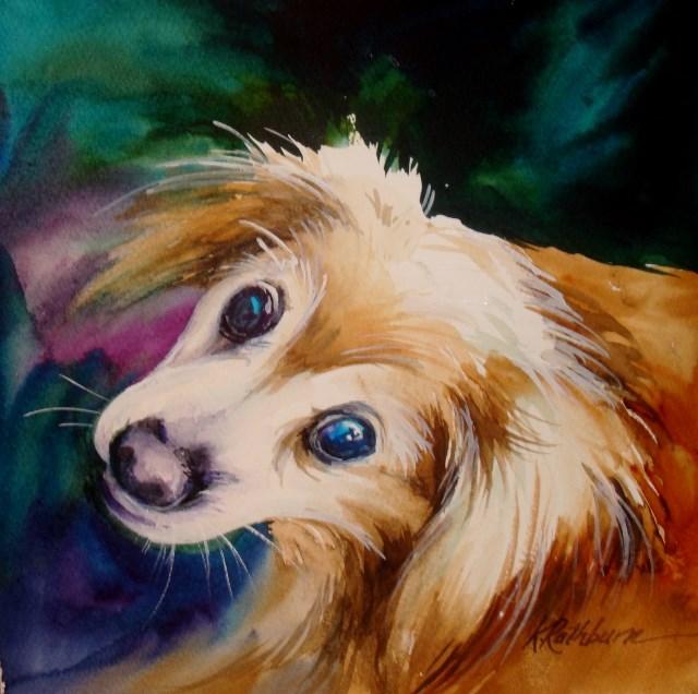 """""""Missy"""" original fine art by Kathy Los-Rathburn"""