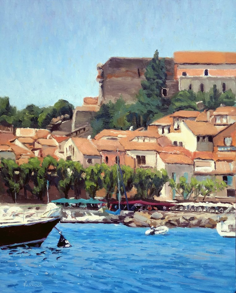 """Port of Collioure France"" original fine art by Daniel Fishback"