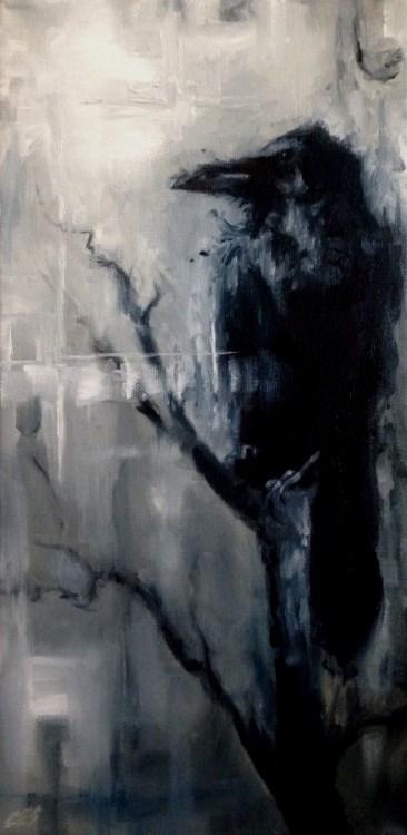 """""""The Warrior"""" original fine art by ~ces~ Christine E. S. Code"""