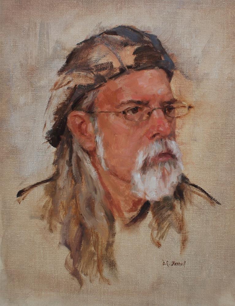 """The Musician"" original fine art by Donna C Farrell"