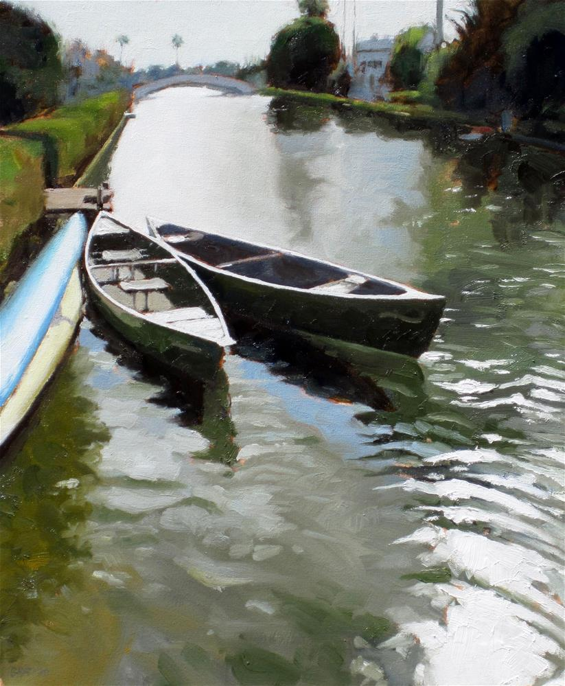 """Linnie Canal"" original fine art by Dan Graziano"