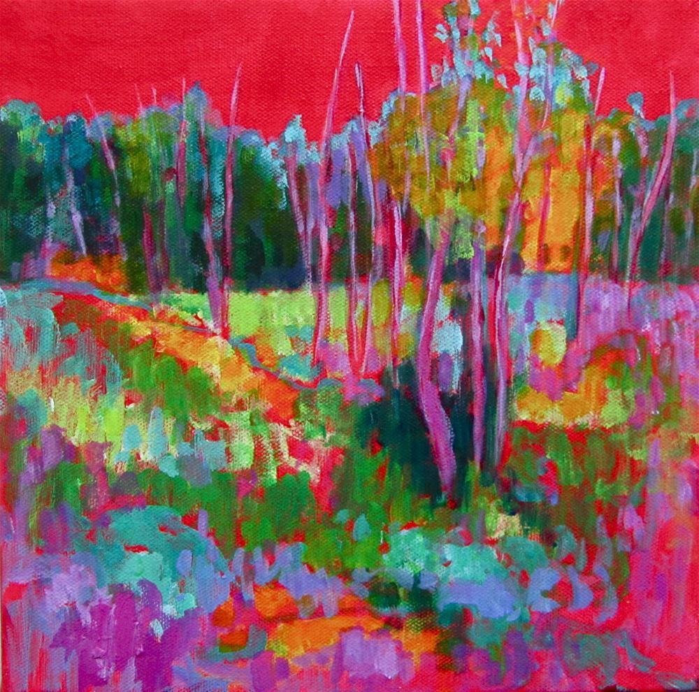"""Red Hot"" original fine art by Patricia MacDonald"