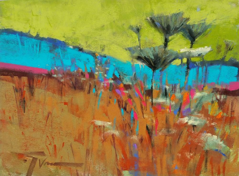 """Roadside Rumba"" original fine art by Jennifer Evenhus"
