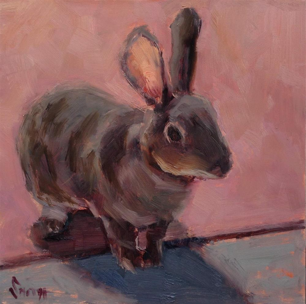 """All Ears"" original fine art by Barbie Smith"