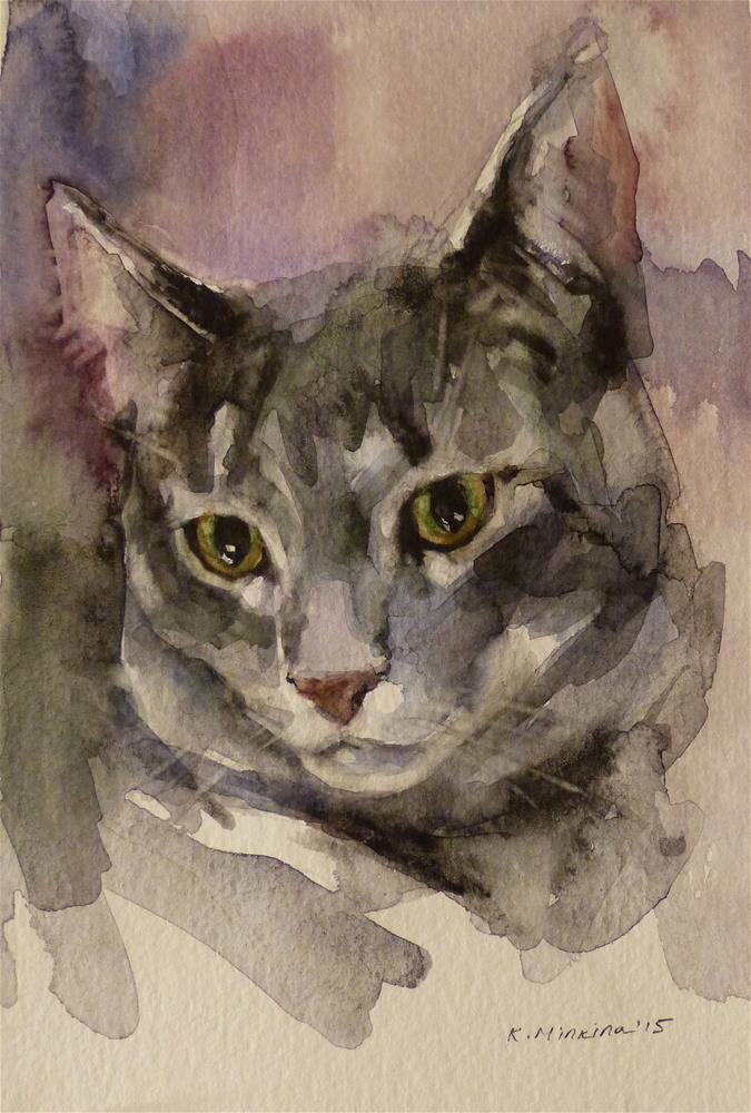"""adopt74"" original fine art by Katya Minkina"