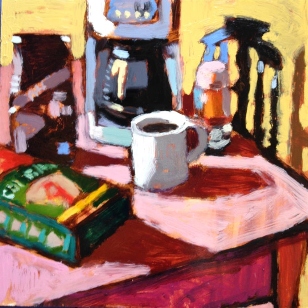 """Morning Altar"" original fine art by Pamela Hoffmeister"