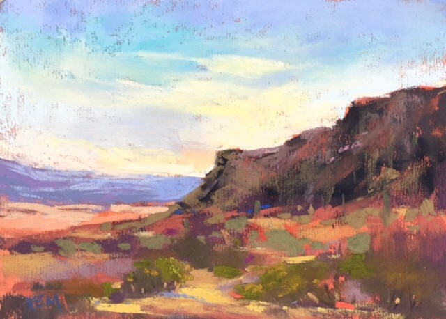 """The Colors of the Desert"" original fine art by Karen Margulis"