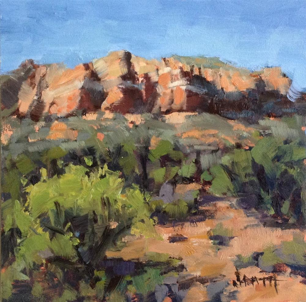"""Sedona Study"" original fine art by Barbie Smith"