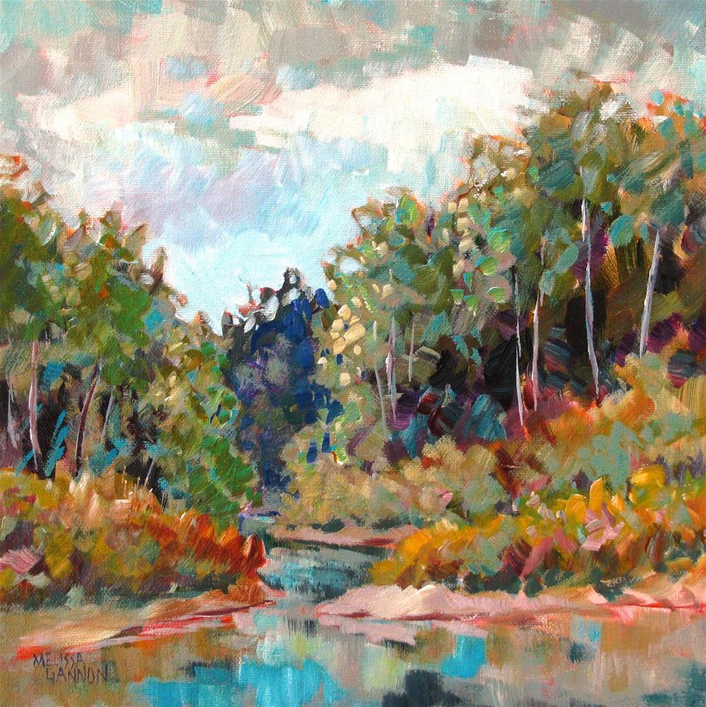 """""""Summer Morning"""" original fine art by Melissa Gannon"""