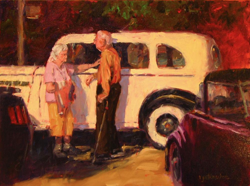 """Sunset Years"" original fine art by Rebecca Justice-Schaab"