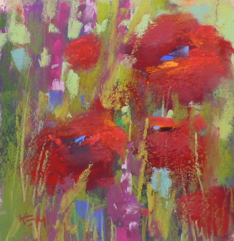 """The Secret to Better Pastel Painting"" original fine art by Karen Margulis"
