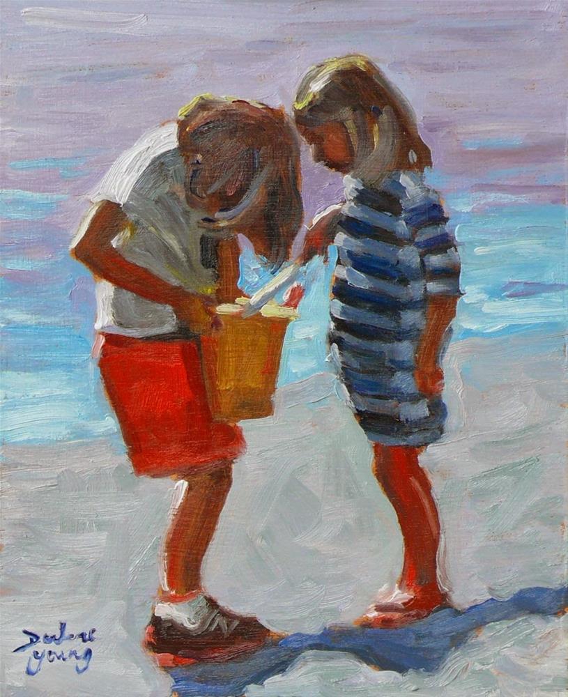 """739 The Find"" original fine art by Darlene Young"
