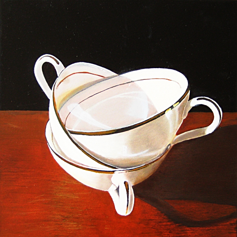 """""""My cup runneth over"""" original fine art by Alex Zonis"""