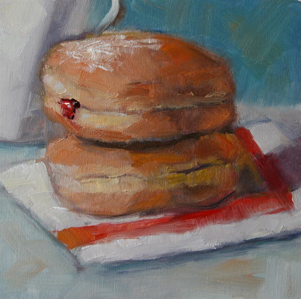 """Food for Thought"" original fine art by Carol Josefiak"
