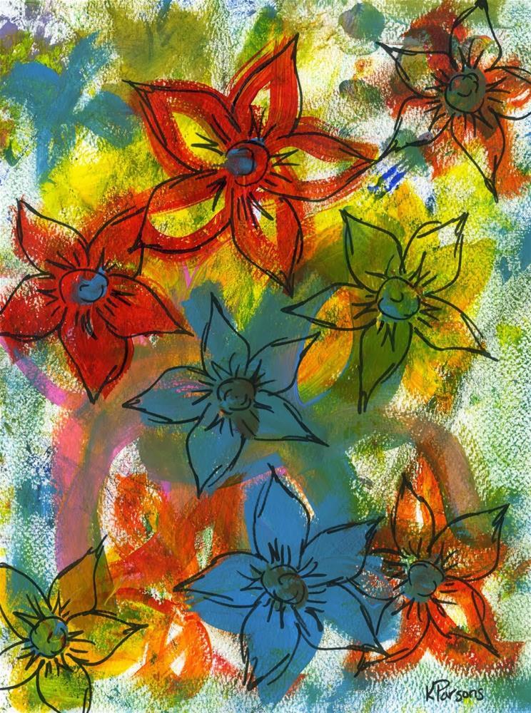"""Octet"" original fine art by Kali Parsons"