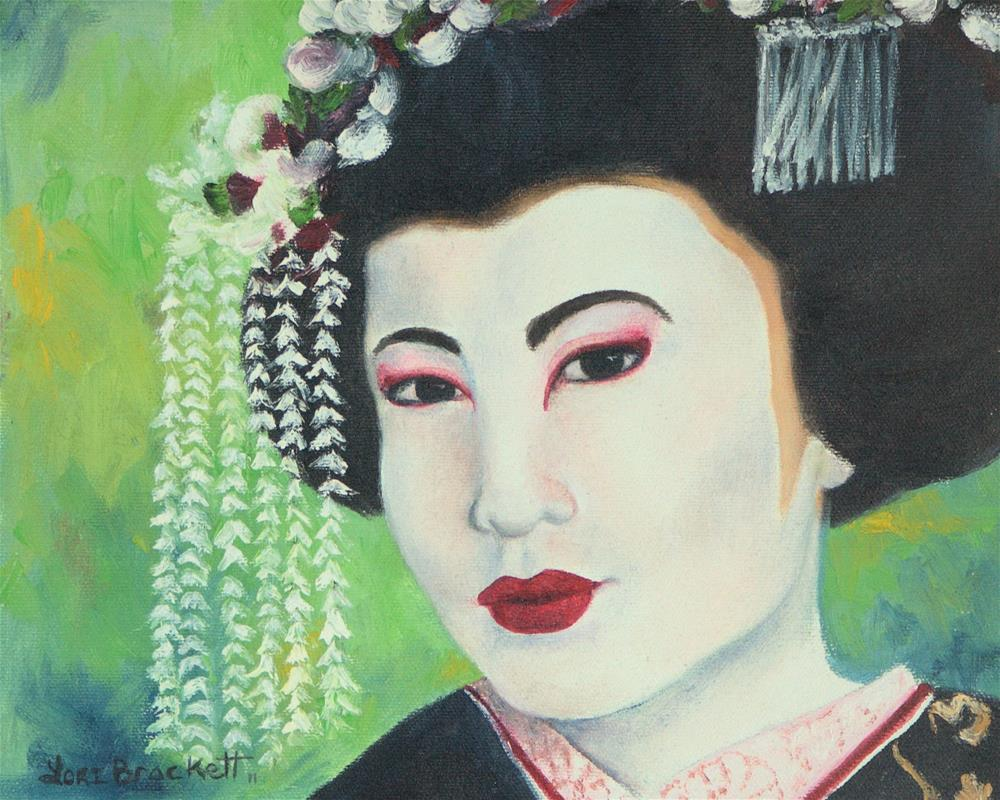 """Geisha"" original fine art by Lori Brackett"