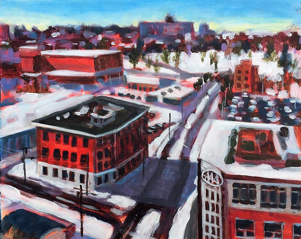"""Portland Series 2 AAA"" original fine art by Suzanne Woodward"