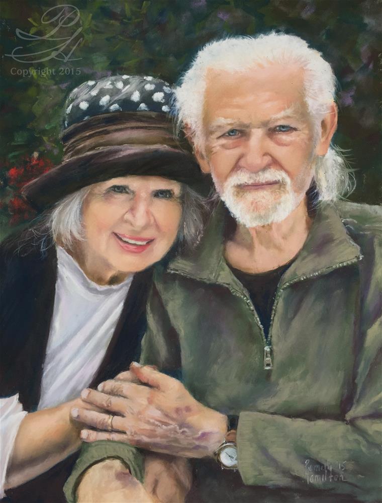 """Love Endures"" original fine art by Pamela Hamilton"