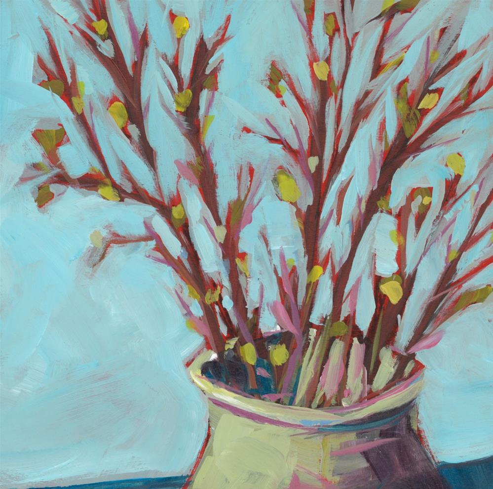 """1058: Blooming Branches"" original fine art by Brian Miller"