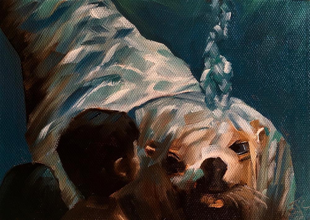 """""""Alaska SeaLife Center"""" original fine art by Bobbie Cook"""
