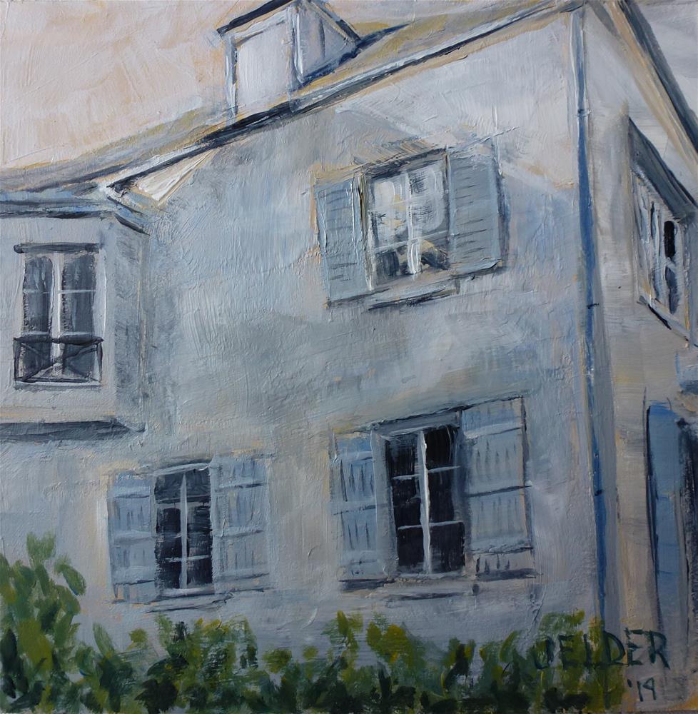 """Paris No. 112"" original fine art by Judith Elder"