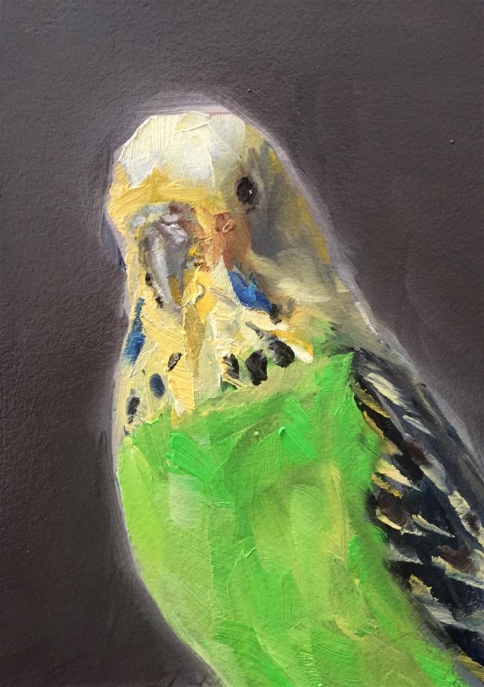 """Yellow and Green"" original fine art by Gary Bruton"