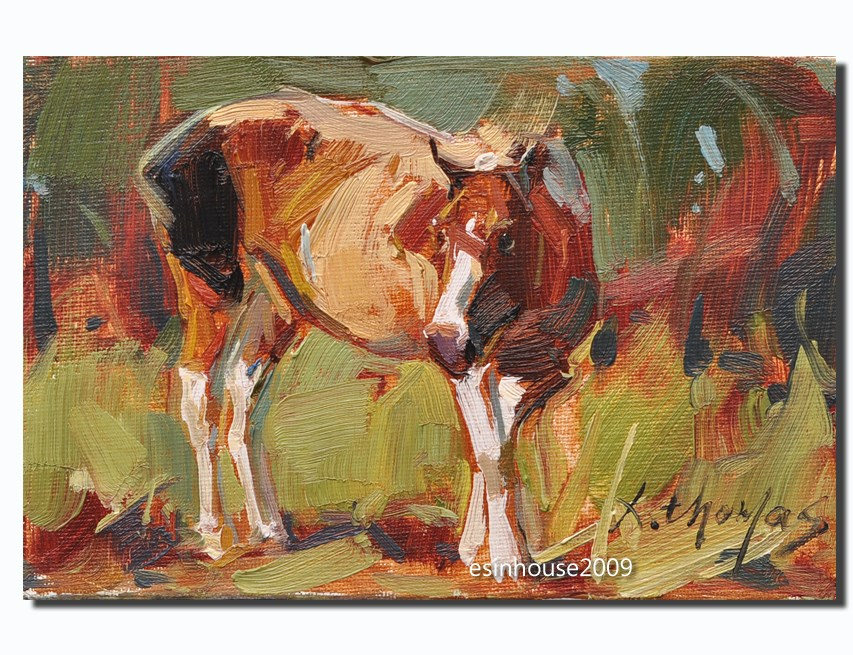 """HORSE"" original fine art by Thomas Xie"