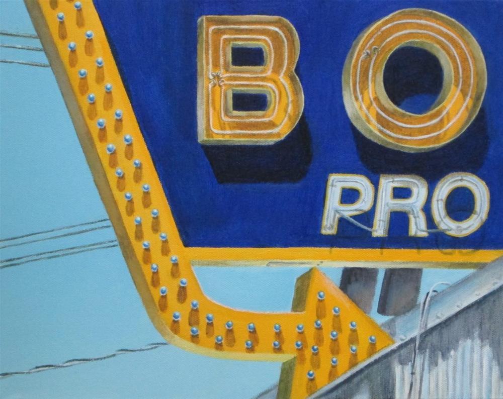 """Bo Pro"" original fine art by Debbie Shirley"