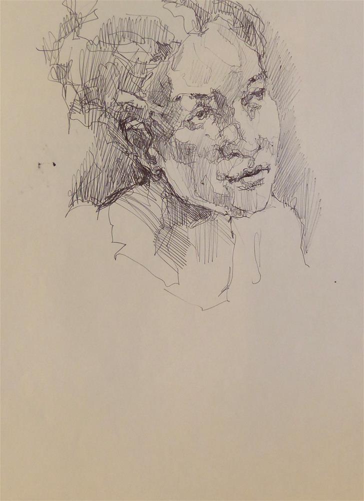 """sketchbook51"" original fine art by Katya Minkina"